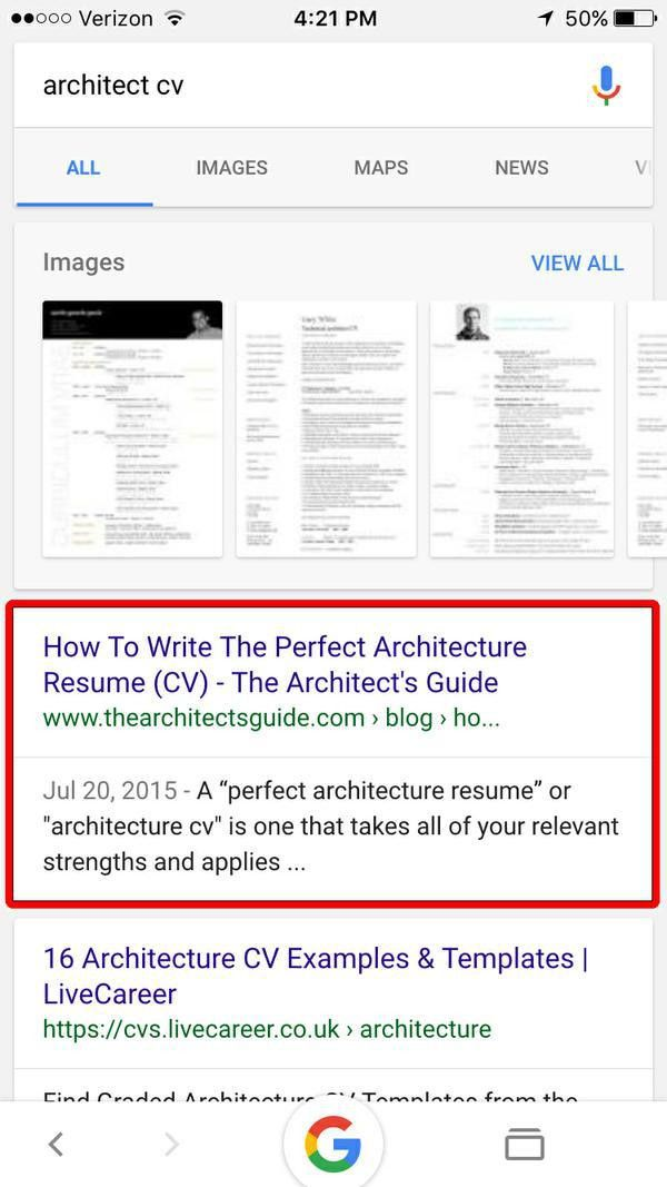 Brandon's Architecture Resume (CV) Writing Service - The ...