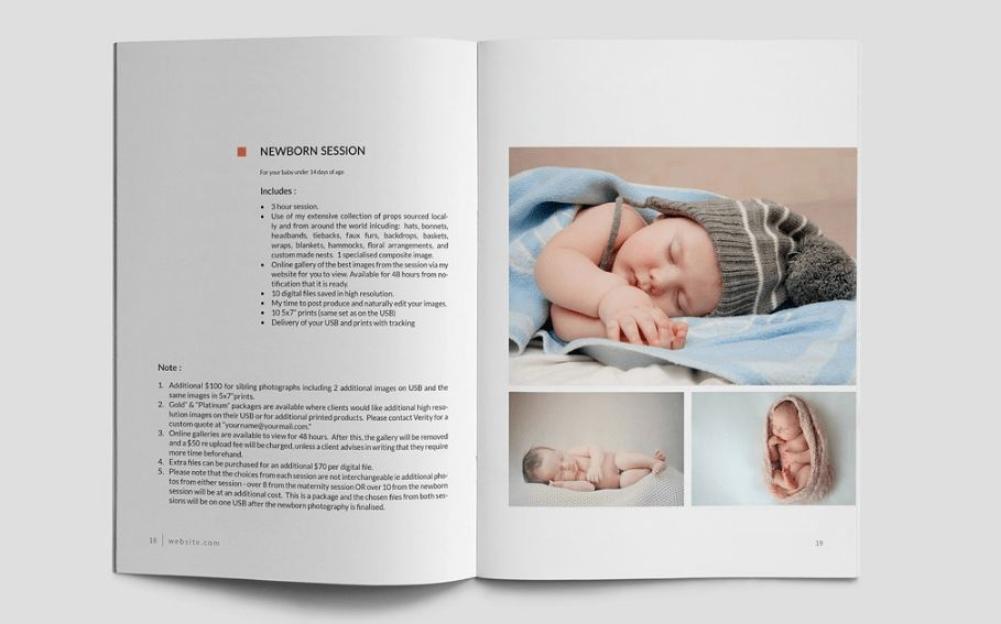 10 Fabulous Baby Record Book Templates for Parents and Designers _ ...