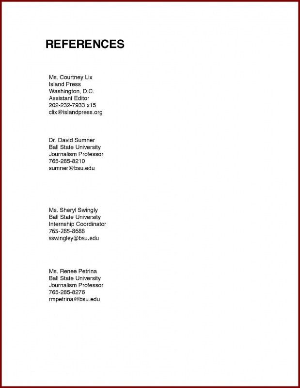how to do references on a resume - thebridgesummit.co