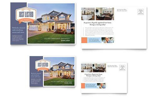New Property Flyer Template Design