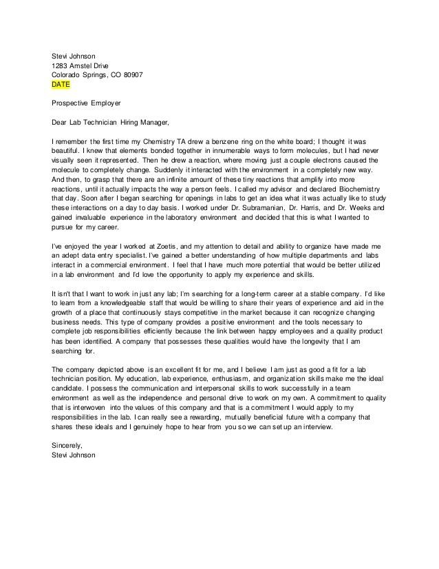 Library Technician Cover Letter] Library Technician Cover Letter ...