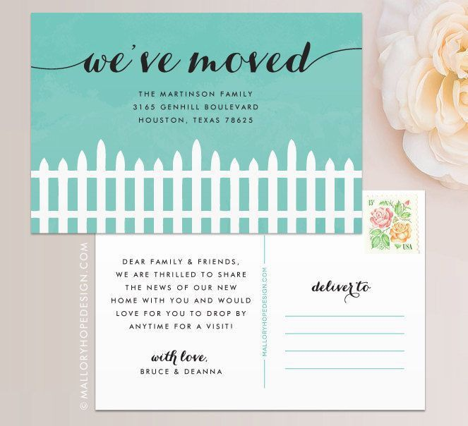 Get 20+ New address announcement ideas on Pinterest without ...