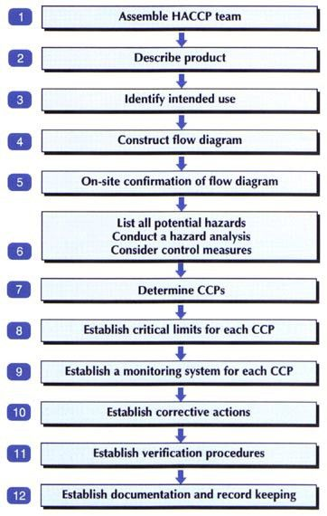 Section 3 - THE HAZARD ANALYSIS AND CRITICAL CONTROL POINT (HACCP ...
