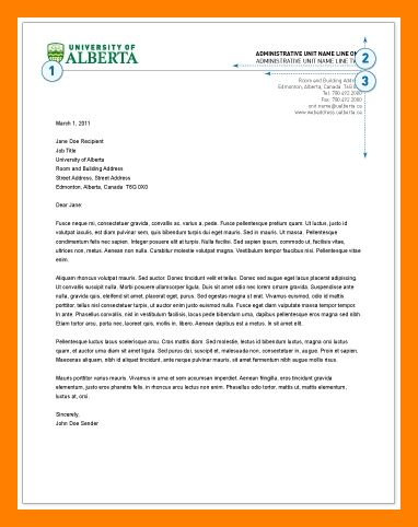 4+ example of a letterhead | resumes great