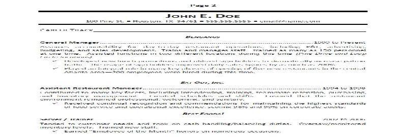 Support Worker Sample Resume