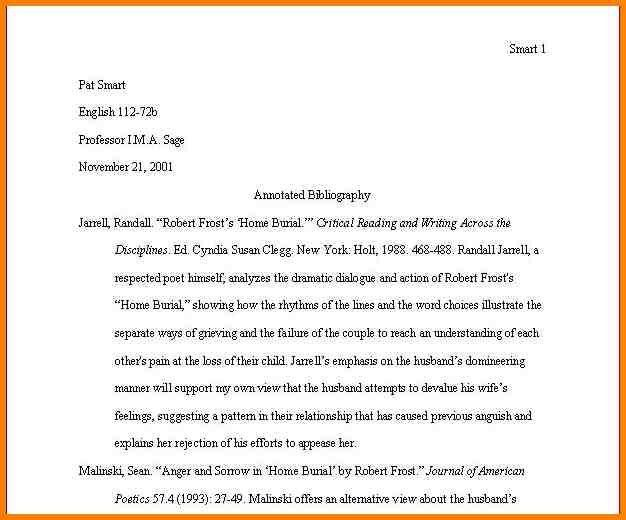 10+ sample of annotated bibliography mla | Annotated bibliography