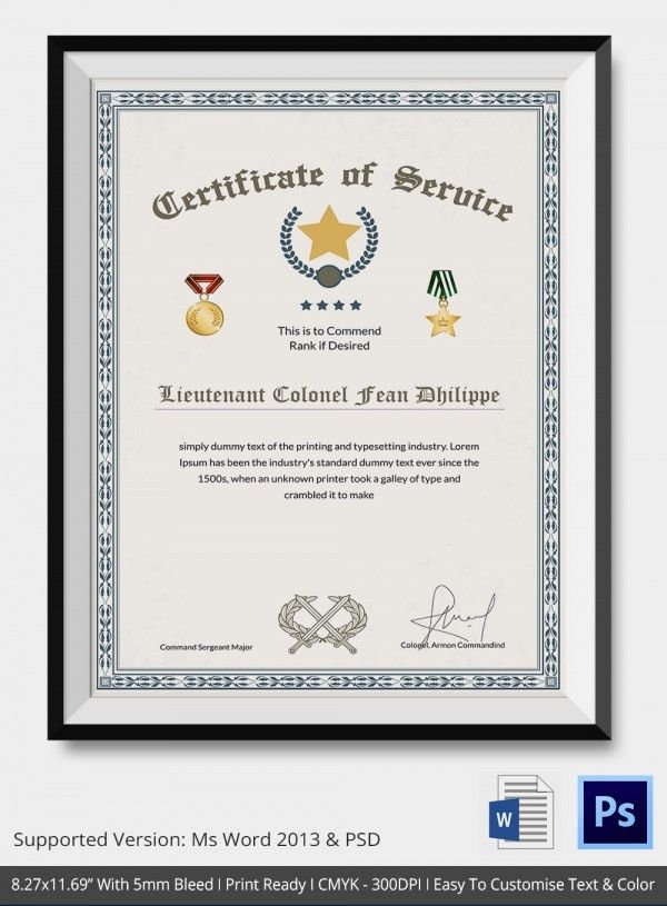 Thank You Certificate Template- 10+ Free PDF, PSD, Vector Format ...