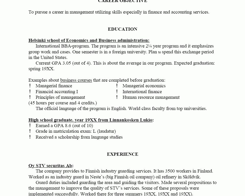 different resume templates download different resume formats
