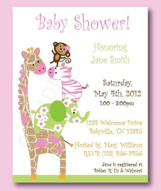 Jack And Jill Baby Shower Invitations   badbrya.com