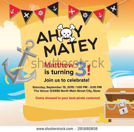 "sugardragon's ""Birthday Invitation Template"" set on Shutterstock"
