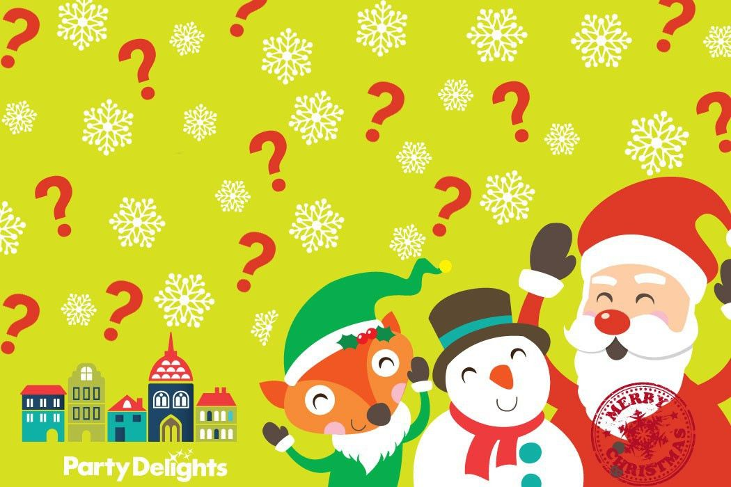 Free Printable Christmas Quiz | Party Delights Blog