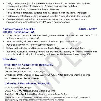 Chic Design Instructional Designer Resume 8 Instructional Designer ...