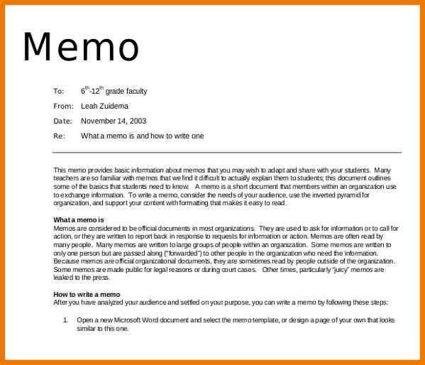 9+ memorandum example | postal-carrier