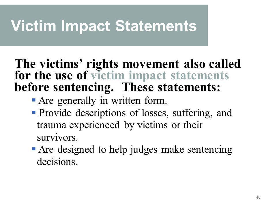 Victim Impact Statement Template - Contegri.com