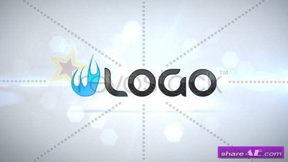 Clean Particle Logo Intro - After Effects Project (Revostock ...