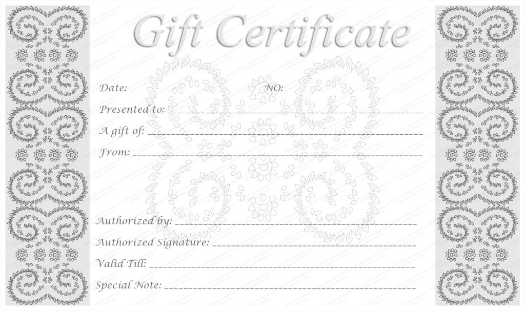 Make Your Own Gift Voucher Template Templates For Editable And ...