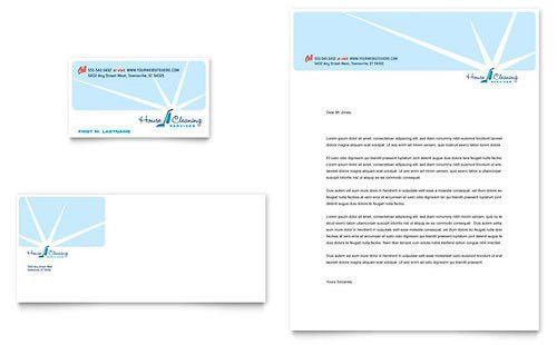 House Cleaning Service   Business Card Templates   Home Maintenance