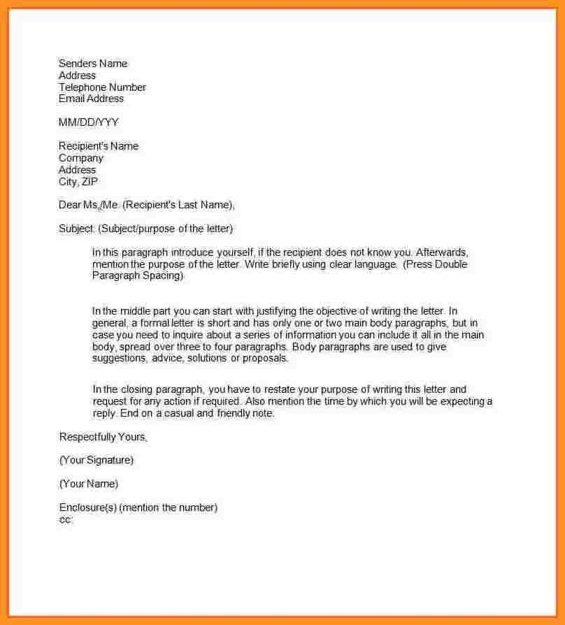 8+ what is a formal business letter | blank loan agreement