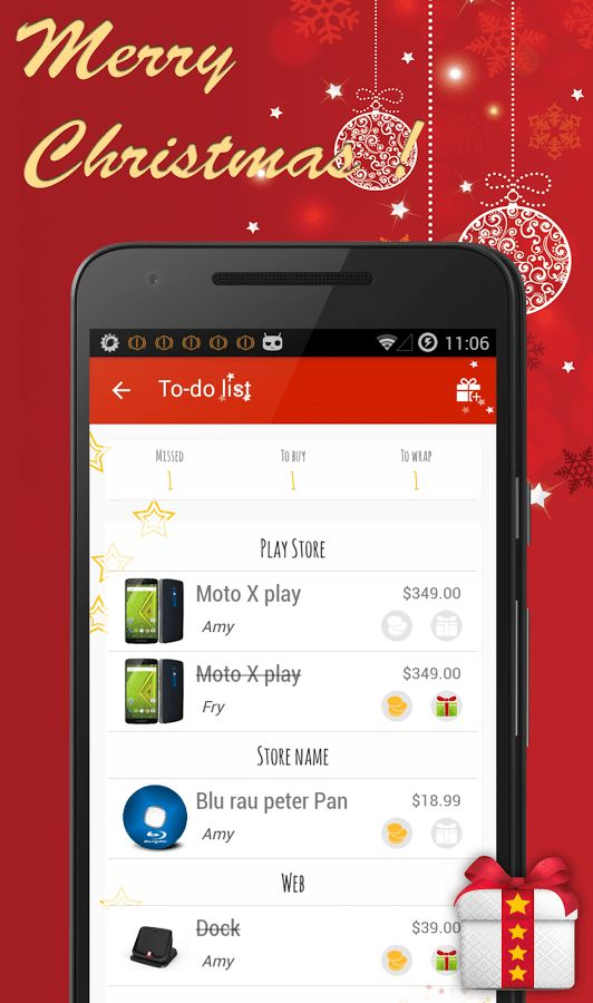 Christmas Gift List - Android Apps on Google Play