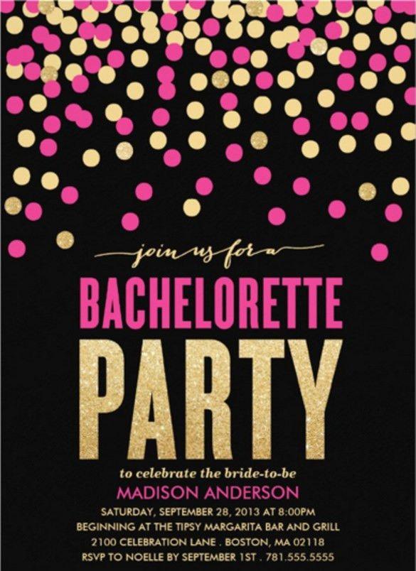 19+ Bachelorette Invitation Templates – Free Sample, Example ...