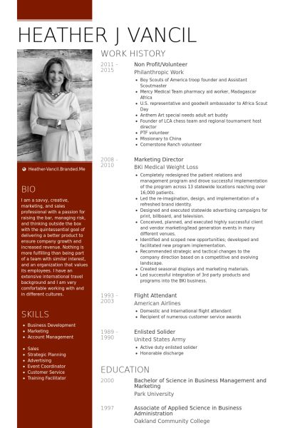 Non Profit Resume samples - VisualCV resume samples database