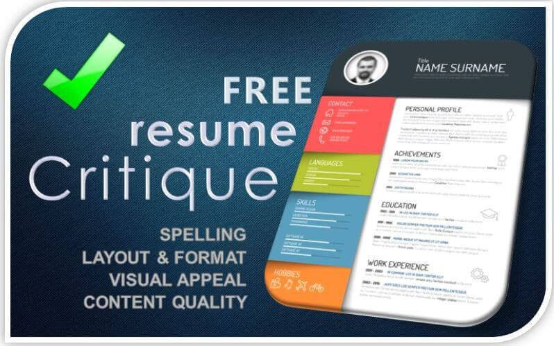 Free Resume Review #17456