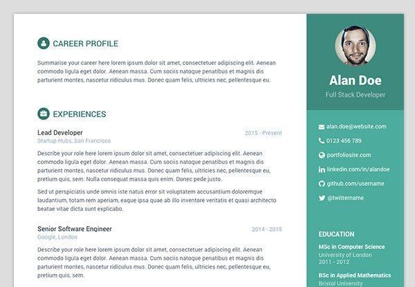 19+ [ Github Resume Template ] | Minimix Advanced Multi Purpose ...