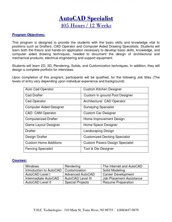 cad technician resume samplemechanical drafter resume examples ...
