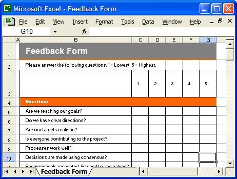 Communication Plan Template - Feedback Form | A Communicatio… | Flickr