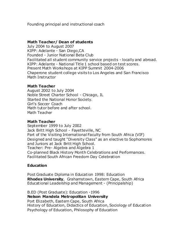 Adriaan resume