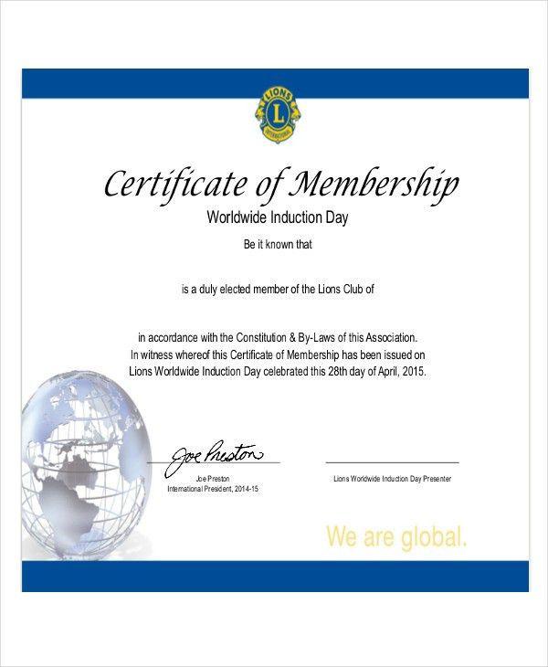 18+ Free Certificate Templates | Free & Premium Templates