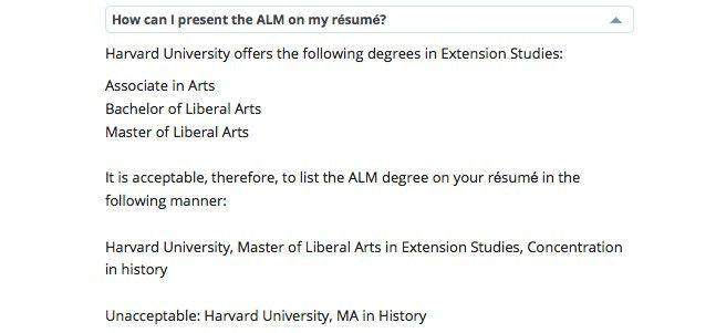 Harvard Extension School résumé guidelines are bogus   Ipso Facto