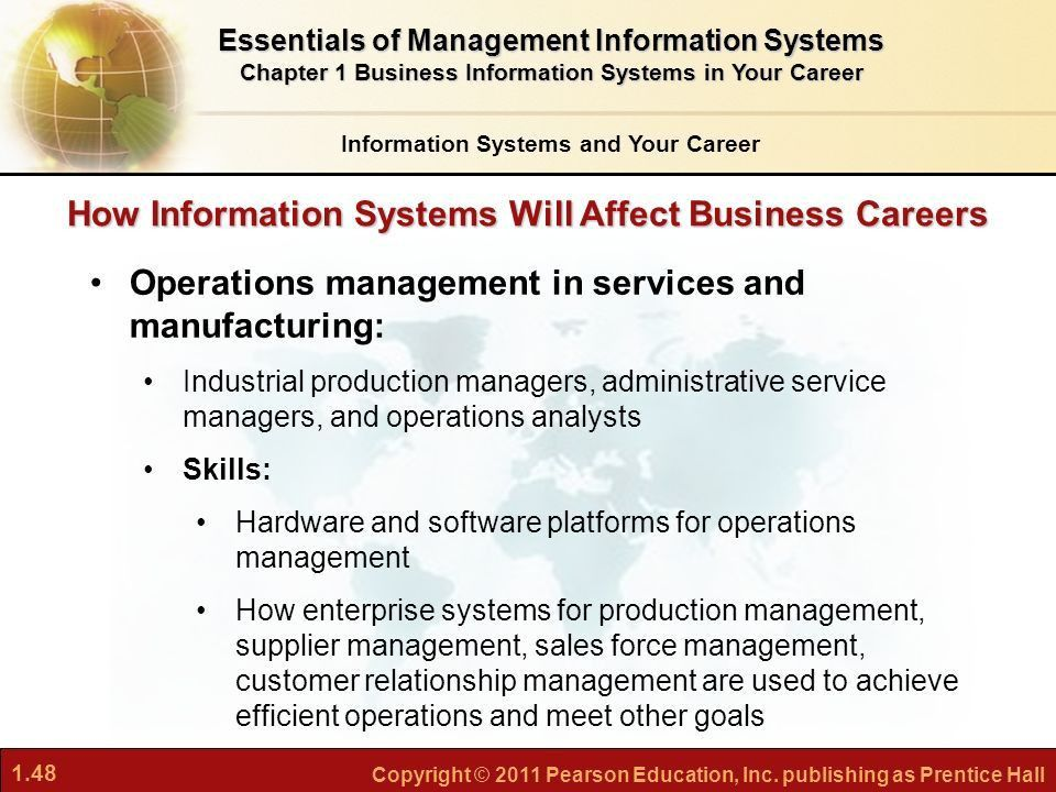 Business Information Systems in Your Career - ppt download