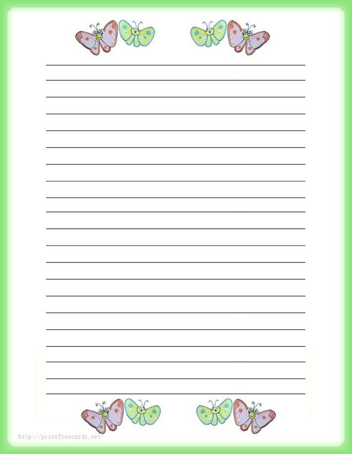Stationery Paper | ... stationery, free printable writing paper ...