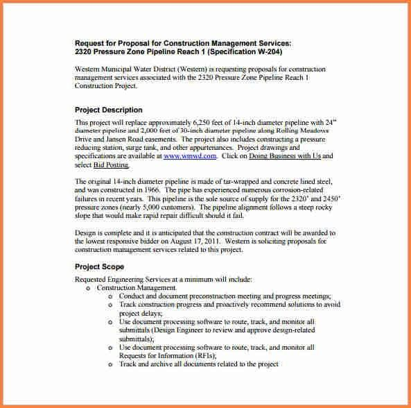 6+ sample proposal template for project | Project Proposal