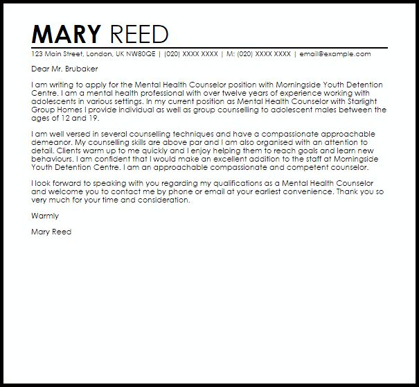 sample school counselor cover letter resume cv cover letter ...