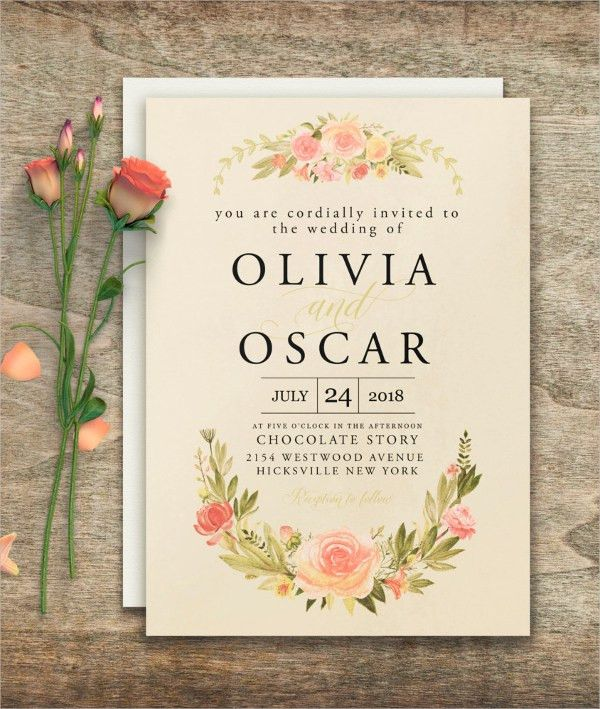 21+ Elegant Wedding Invitations - Free PSD, VectorAI, Ep | Free ...