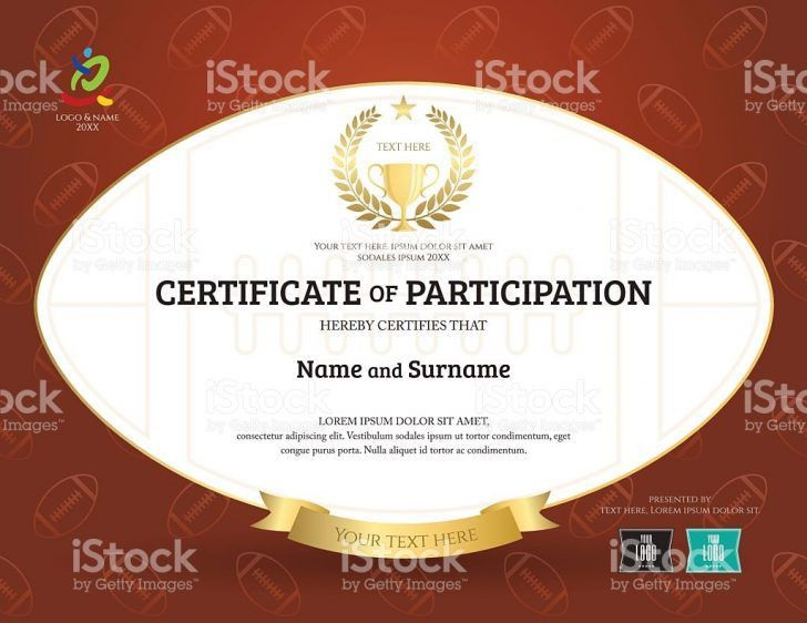certificate of participation template doc | Best and Various ...