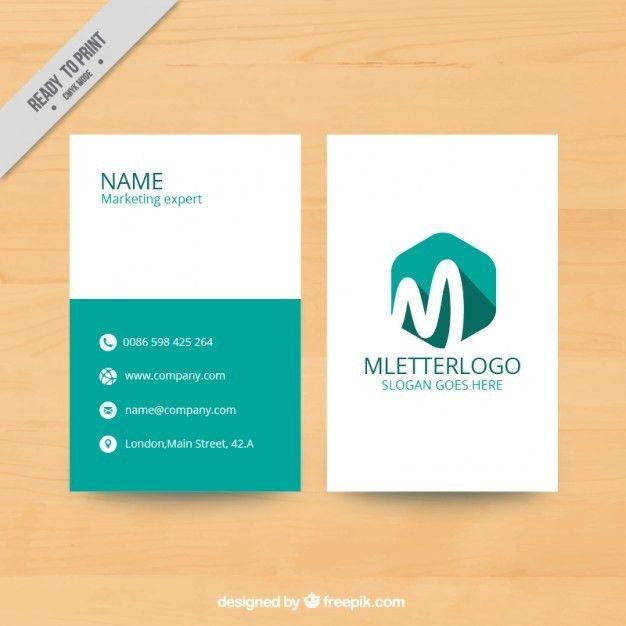 Marketing flyer template with hexagon | free vectors | UI Download