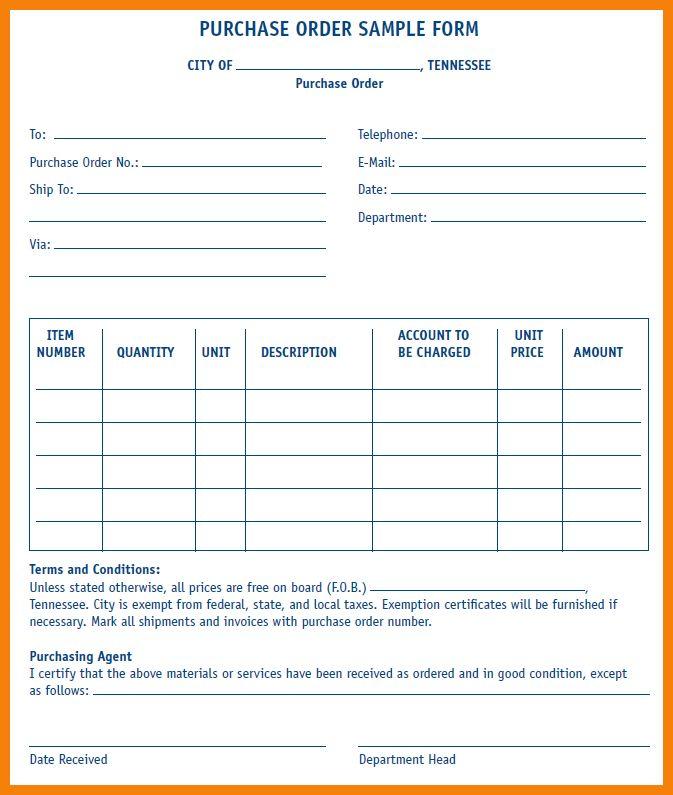 5+ sample of purchase order format | hr cover letter