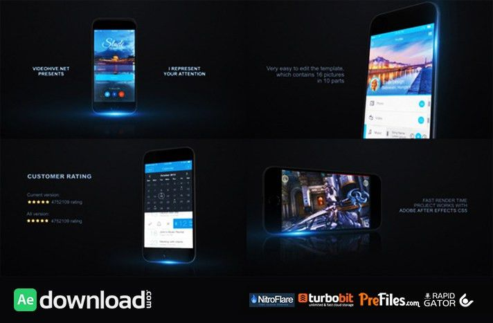 MOBILE APP PROMO KIT (VIDEOHIVE PROJECT) - FREE DOWNLOAD - Free ...