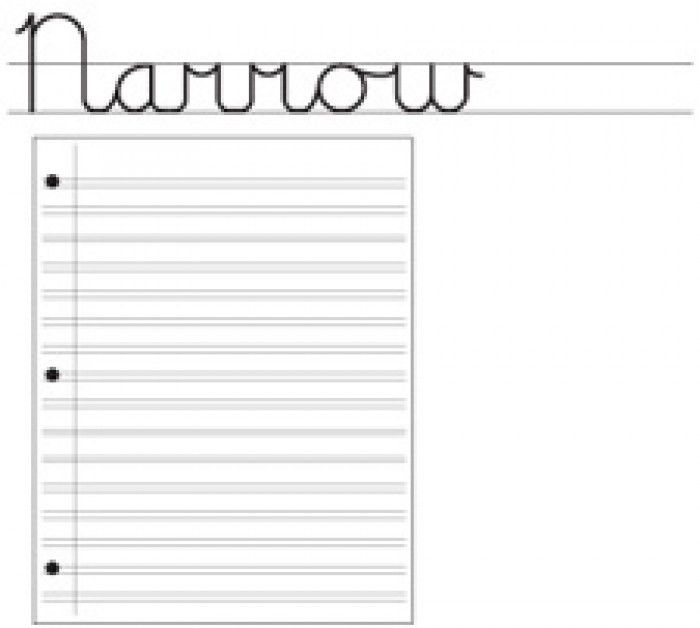 Handwriting Without Tears Double Line Notebook Paper - Handwriting ...