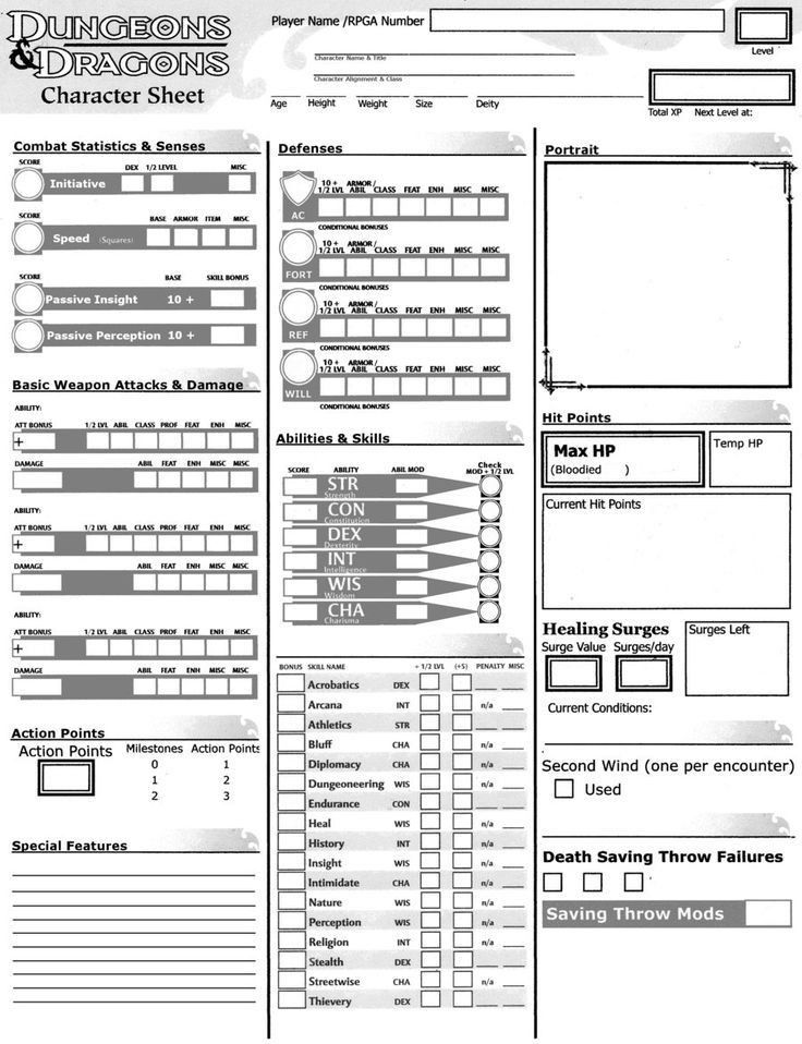 18 best Character Sheet images on Pinterest | Tabletop games ...