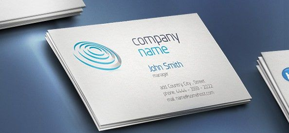 Business Card Template - Free PSD Files