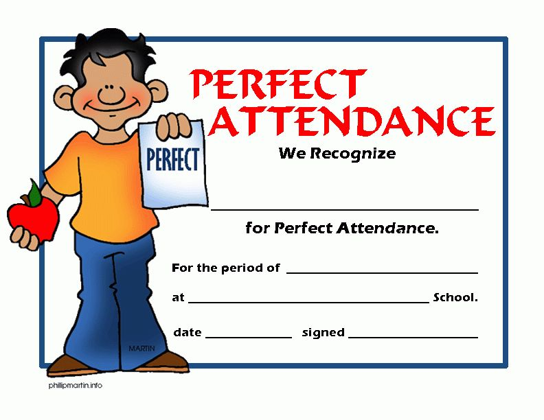 Attendance Award Cliparts | Free Download Clip Art | Free Clip Art ...