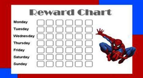 DIY Fun Printer Crafts : Printable Rewards Chart - Fun with ...