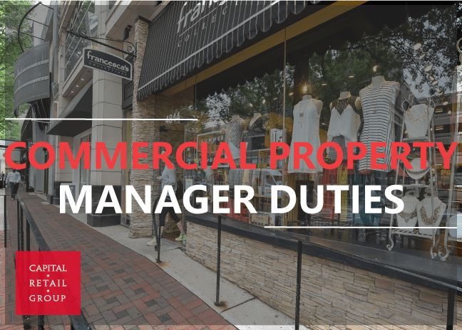 Commercial Property Manager Duties - Capital RetailCapital Retail