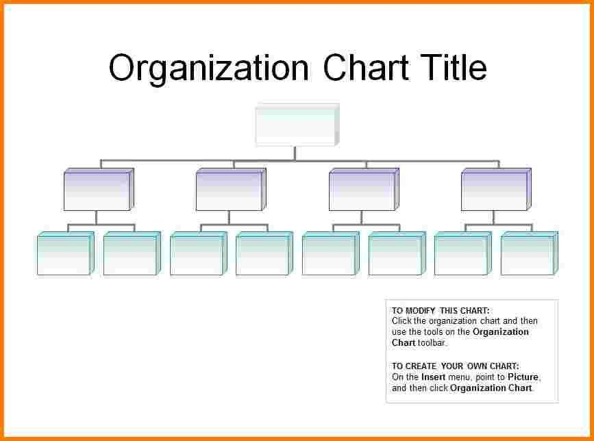 5+ free organizational chart template | Receipt Templates