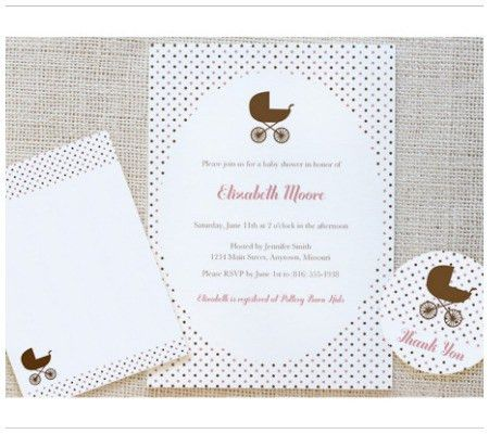 Free Printables: 24 Darling Baby Shower Invitations + More ...