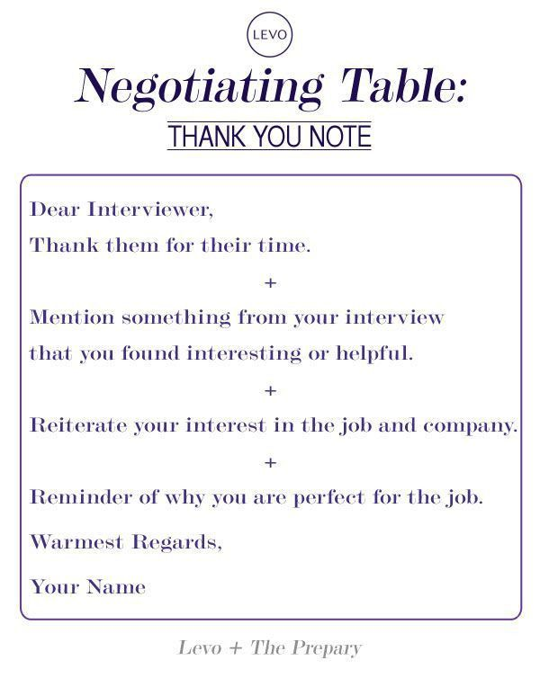 43 best Job Interview thank you note examples and wording images ...